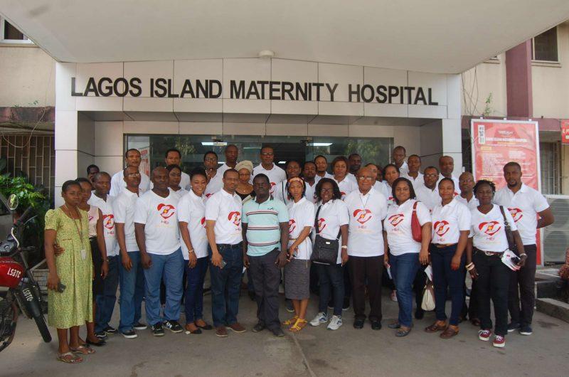 At Lagos Island maternity hospital
