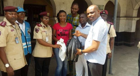 HEI in collaboration with FRSC pay a visit to General Hospital Lagos