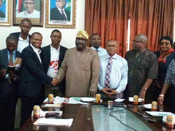 Signing of MoU with Federal Medical Centre, Ebute
