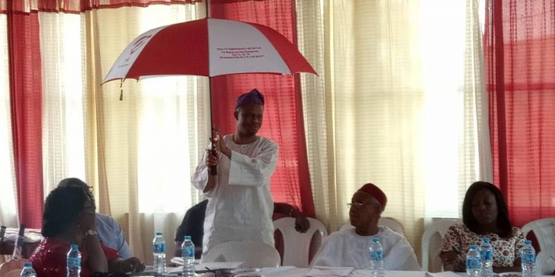 The Launching of HEI umbrella at the AGM