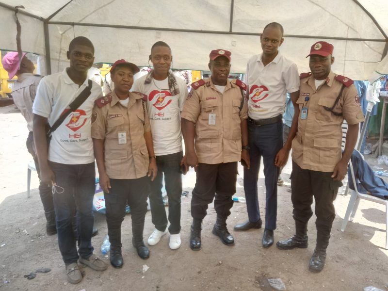 HEI team at FRSC Rally