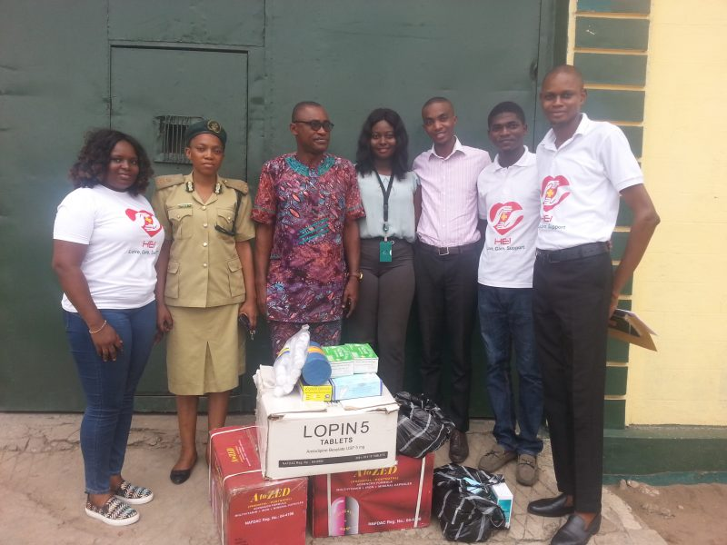 Donation of Drugs And Medical Items at Kirikiri Medium Prison