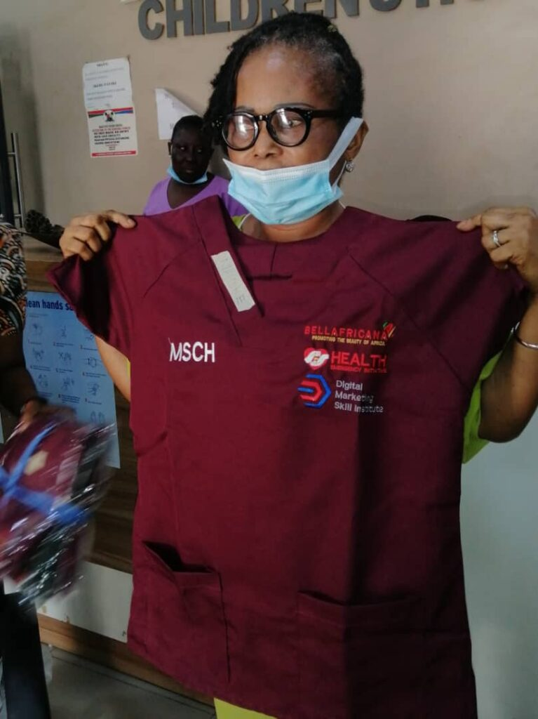 Donation to Massey Children Hospital
